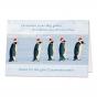"""Lustige Weihnachtskarten """"Pinguine"""" zum Schnäppchenpreis"""
