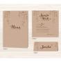 Luxuriöse Hochzeitskarten - Mögliches Kartenzubehör