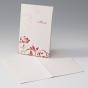 Rote Menükarten zur Hochzeit online bestellen