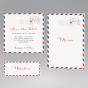 Moderne Hochzeitskarten - mehr aus diesem Kartenset