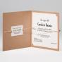 Moderne Hochzeitseinladungen - Gestaltungsbeispiel Karteninnenseiten