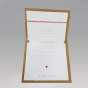 Moderne Vermählungskarten - Gestaltungsbeispiel Karteninnenseiten