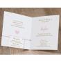 """Moderne Babykarten """"Mädchen"""" - Gestaltungsbeispiel Karteninnenseiten"""