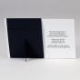 """Moderne Dankeskarte """"Foto""""  - Gestaltungsbeispiel Kartenrückseite"""