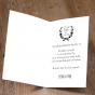 """Moderne Dankkarten """"Hochzeit"""" - Gestaltungsbeispiel Karteninnenseiten"""