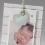 Moderne Fotokarten zur Geburt - Detailansich