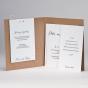 Moderne Hochzeitseinladung - Gestaltungsbeispiel Karteninnenseiten