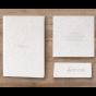 """Moderne Hochzeitseinladung """"Vintage"""" - mögliches Kartenzubehör aus diesem Set"""
