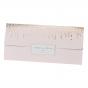 """Hochzeitseinladungen """"Altrosa"""" im eleganten Design mit edler Goldfolienprägung und bezaubernder Zierperle"""