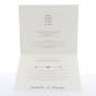 """Moderne Hochzeitseinladungen """"30er Jahre"""" Gestaltungsbeispiel Karteninnenseiten"""