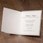 Moderne Einladungskarten - Gestaltungsbeispiel Karteninnenseiten