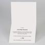 """Moderne Kommunionkarte """"Vintage"""" - Gestaltungsbeispiel Karteninnenseite"""