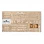 Moderne Neujahrskarten mit edler Folienprägung zum Schnäppchenpreis