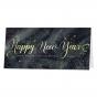 Neujahrskarten mit ausgefallenem Tannenmotiv & edler Goldfolienprägung