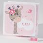 """Niedliche Babykarten """"Giraffe""""- alle gezeigten Applikationen werden mitgeliefert"""