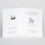 Niedliche Geburtskarten - Gestaltungsbeispiel Karteninnenseiten