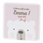Niedliche Geburtskarten für Mädchen mit hübscher Folienprägung