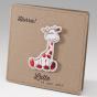"""Niedliche Geburtskarten """"Giraffe"""" im trendigen Design"""