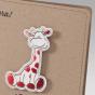 """Niedliche Geburtskarten """"Giraffe"""" - Detailansicht"""