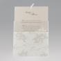 """Romantische Hochzeitskarten """"Blumen"""" - Gestaltungsbeispiel Einsteckkarte"""