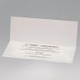 Romantische Hochzeitskarten - auch als Jubiläumskarte - Gestaltungsbeispiel Karteninnenseiten