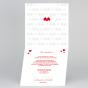 Romantische Hochzeitskarten - Gestaltungsbeispiel Karteninnenseiten
