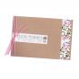 """Romantische Hochzeitseinladungen """"Rosen"""" - auf Kraftkarton & schimmerndem Metallickarton"""