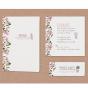 Romantische Hochzeitseinladungen - Mögliches Kartenzubehör