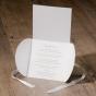 Romantische Hochzeitseinladungen - Gestaltungsbeispiel Karteninnenseiten