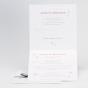 """Hochzeitseinladungen """"Schmetterlinge"""" - Gestaltungsbeispiel Karteninnenseiten"""