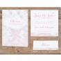 """Save the Date Karten """"Rosa Marmor"""" - Mögliches Kartenzubehör"""