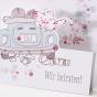 Romantische Hochzeitskarten - Detailansicht