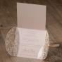 """Romantische Hochzeitskarten """"Blumenspitze"""" - Mögliches Kartenzubehör"""