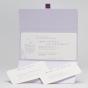 Romantische Hochzeitsmappe - Gestaltungsbeispiel Einsteckkarten Karteninnenseiten