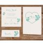 Romantische Vermählungskarten - Mögliches Kartenzubehör