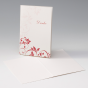 """Rote Dankkarten """"Hochzeit"""" - Dankeskarten online bestellen"""