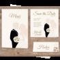 Ausgefallene  Hochzeitseinladungen - Mögliches Kartenzubehör