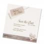 """Save the Date Karten """"Landhaus""""  auf modernem Aquarellkarton"""