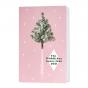 Silvesterkarten mit humorvollem Weihnachtsbaummotiv