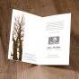 """Stimmungsvolle Trauerkarten """"Bäume"""" - Gestaltungsbeispiel Karteninnenseiten"""