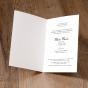 """Stimmungsvolle Trauerkarten """"Calla"""" - Gestaltungsbeispiel Karteninnenseiten"""