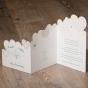 Vermählungskarte - Gestaltungsbeispiel Karteninnenseiten