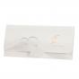 """Moderne Vermählungskarten """"Strand"""" mit edler Goldfolienprägung, innovativ mit Einsteckklappe"""
