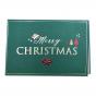 Weihnachtsgrusskarten mit edler Gold- & Rotfolienprägung