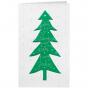 """Weihnachtskarten """"Grün"""" mit moderner Prägung"""