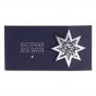 """Weihnachtskarten """"Stern"""" im ausgefallenen Design"""