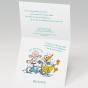 """Witzige Babykarten """"Storch"""" - Gestaltungsbeispiel Karteninnenseiten"""