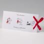Witzige Einladungskarten - Gestaltungsbeispiel Karteninnenseite