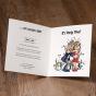 Witzige Einladungskarte - Gestaltungsbeispiel Karteninnenseiten