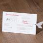 Wunderbare Einladungen - Gestaltungsbeispiel Karteninnenseiten